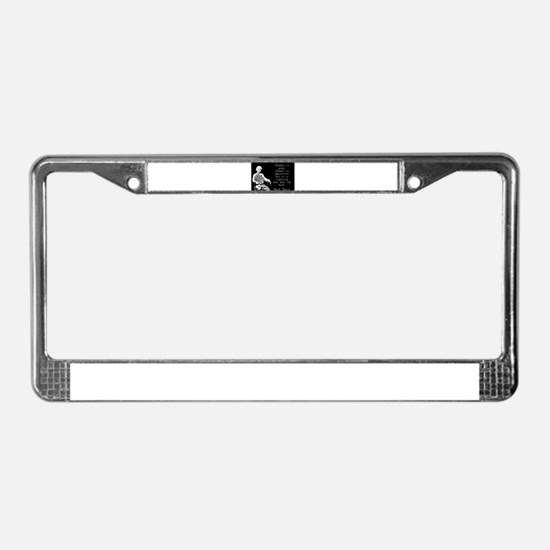 Thunder Is Good - Twain License Plate Frame