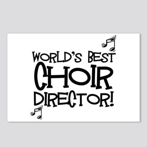 Worlds Best Choir Director Postcards (Package of 8
