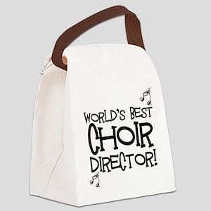 Worlds Best Choir Director Canvas Lunch Bag