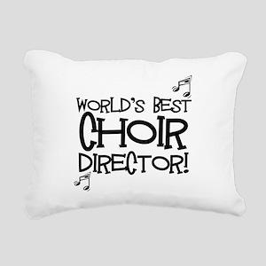Worlds Best Choir Director Rectangular Canvas Pill