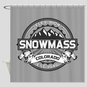 Snowmass Grey Shower Curtain