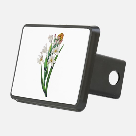 Tuberosa by Pierre Joseph Redoute Hitch Cover