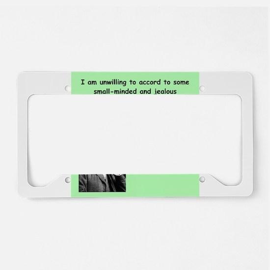 24 License Plate Holder