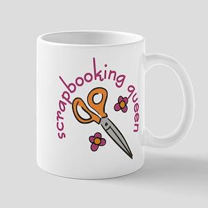 Scrapbooking Queen Mug