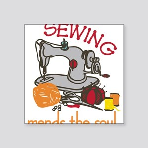 Sewing Mends The Soul Sticker