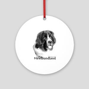 Newf 9 Ornament (Round)