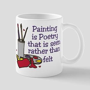 Painting is Poetry Mug