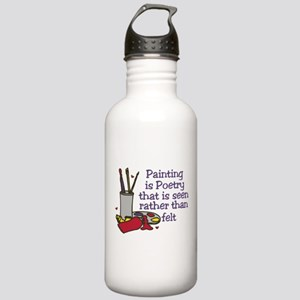 Painting is Poetry Stainless Water Bottle 1.0L