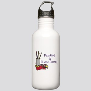 Silent Poetry Stainless Water Bottle 1.0L