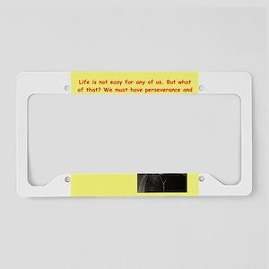 11 License Plate Holder