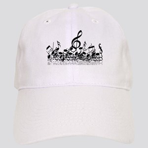 Music Notes Baseball Cap