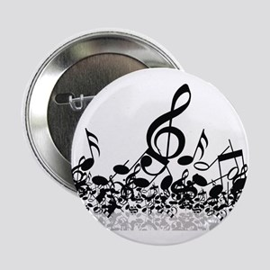 """Music Notes 2.25"""" Button"""