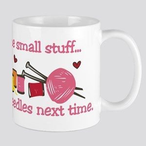Use Bigger Needles Mug