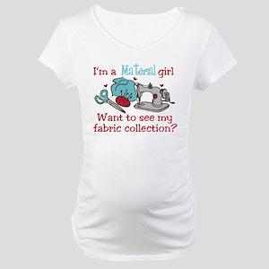 Material Girl Maternity T-Shirt