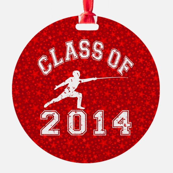Class Of 2014 Fencing Ornament