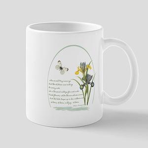 Iris Poem Mug