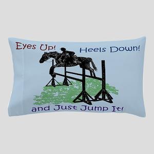 Fun Hunter/Jumper Equestrian Horse Pillow Case