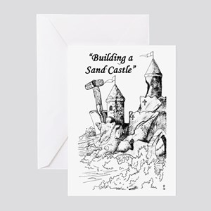 """""""...Sand Castle"""" Greeting Cards (Pk of 10)"""