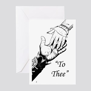 """""""To Thee"""" Greeting Cards (Pk of 10)"""