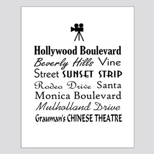 Hollywood Streets Posters