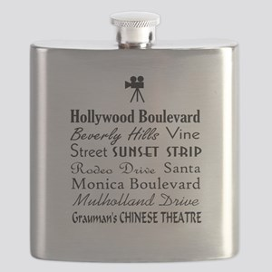 Hollywood Streets Flask