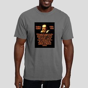 Philosophy Is Written - Galileo Mens Comfort Color