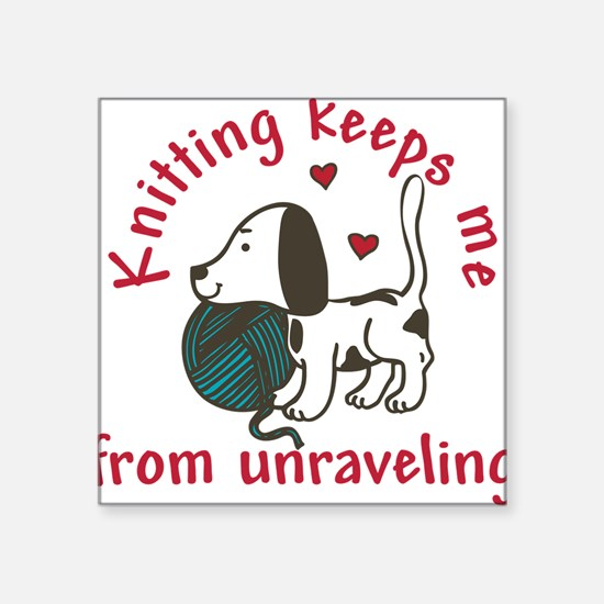 Knitting Sticker