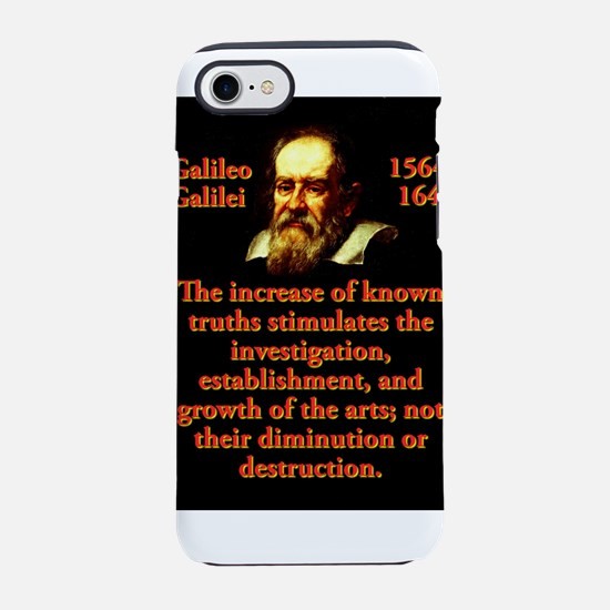 The Increase of Known Truths - Galileo iPhone 7 To