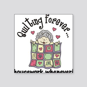 Quilting Forever Sticker