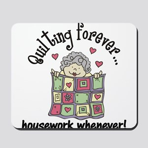 Quilting Forever Mousepad
