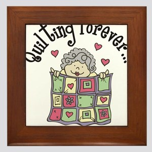 Quilting Forever Framed Tile