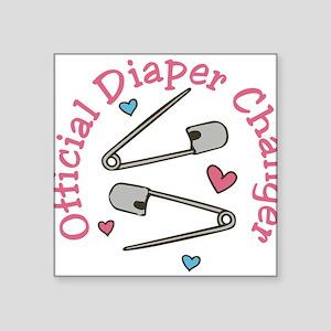 Official Diaper Changer Sticker