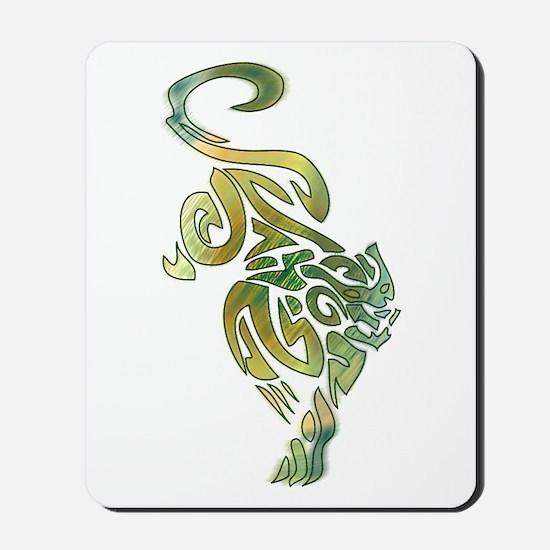 Tribal Panther 6 Mousepad