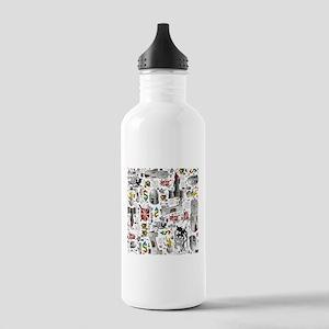 Medieval Mash-up Water Bottle