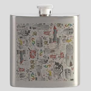 Medieval Mash-up Flask