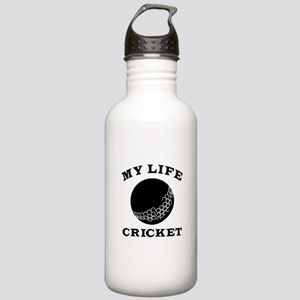 My Life Cricket Stainless Water Bottle 1.0L