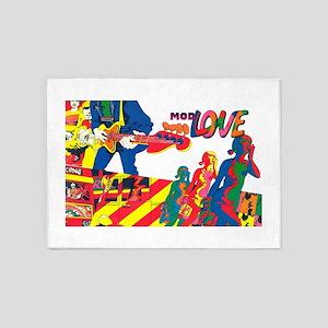 $149.99 Mod Love 5'x7'Area Rug