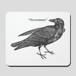 Nevermore Raven Mousepad