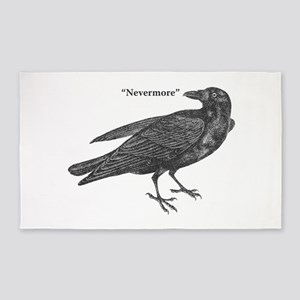 Nevermore Raven 3'x5' Area Rug