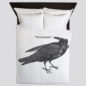 Nevermore Raven Queen Duvet