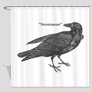 Nevermore Raven Shower Curtain
