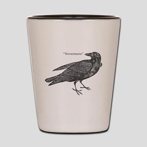Nevermore Raven Shot Glass