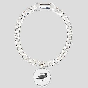 Nevermore Raven Bracelet