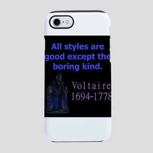 All Styles Are Good - Voltaire iPhone 7 Tough Case