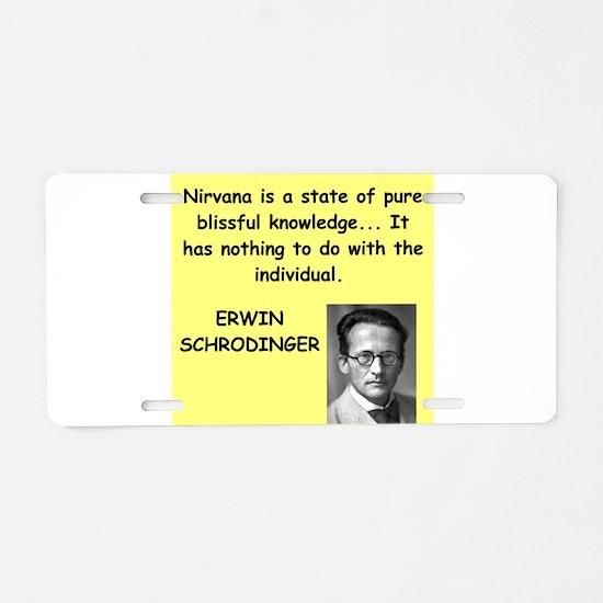 1 Aluminum License Plate