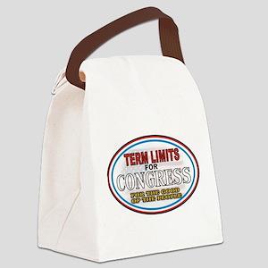 Term Limits Canvas Lunch Bag