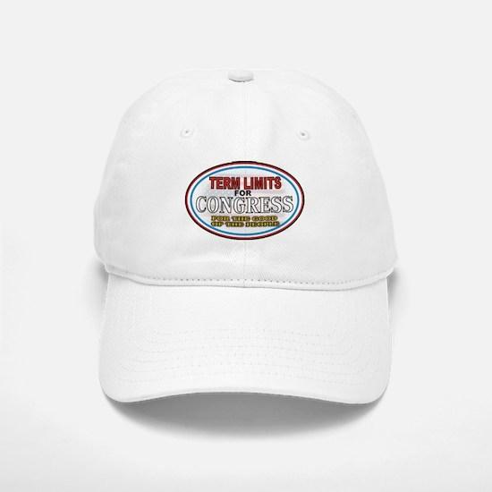 Term Limits Baseball Baseball Baseball Cap