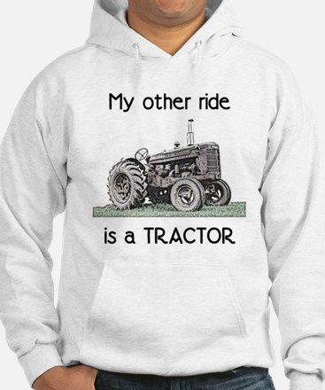 Ride a Tractor Hoodie