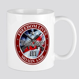 Three Percent - We The People (Flag) Mug