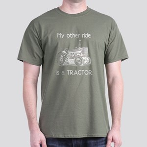 Ride a Tractor Dark T-Shirt